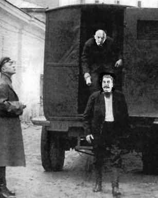 Руки вверх Иосиф Сталин...