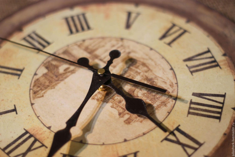 Часы идущие в другую сторону