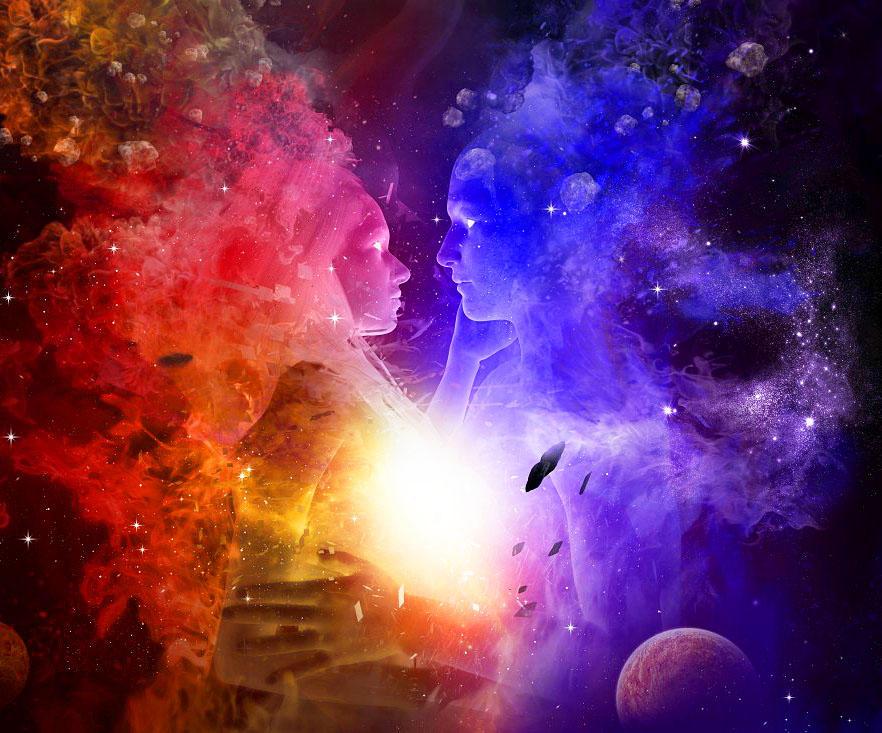 Вселенная любовь картинки