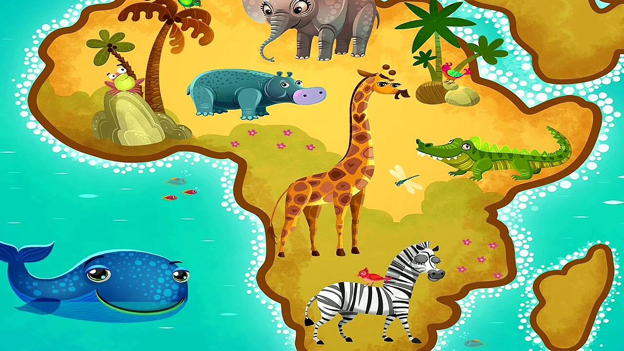 Картинки африки детям