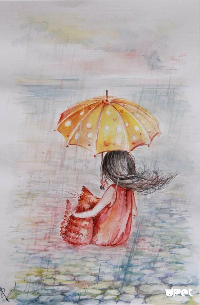 рисунки под дождем поколение поло репортаж