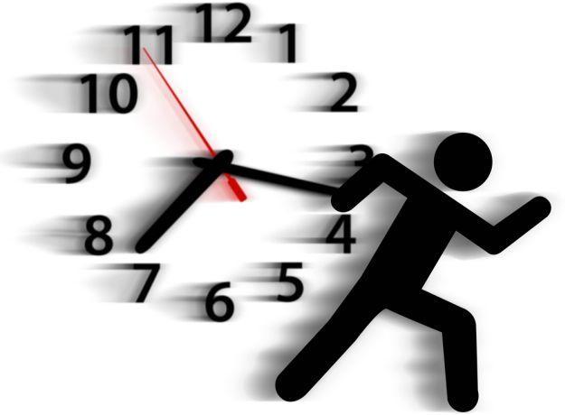Убежало время...