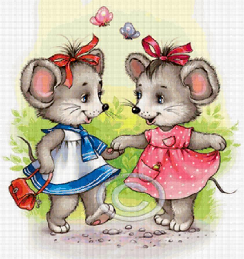 Картинки мышек для девушек