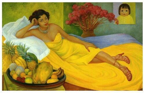 В парео лимонном