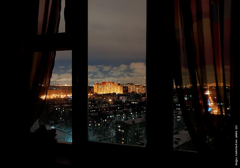 картинки из окон ночь топовых