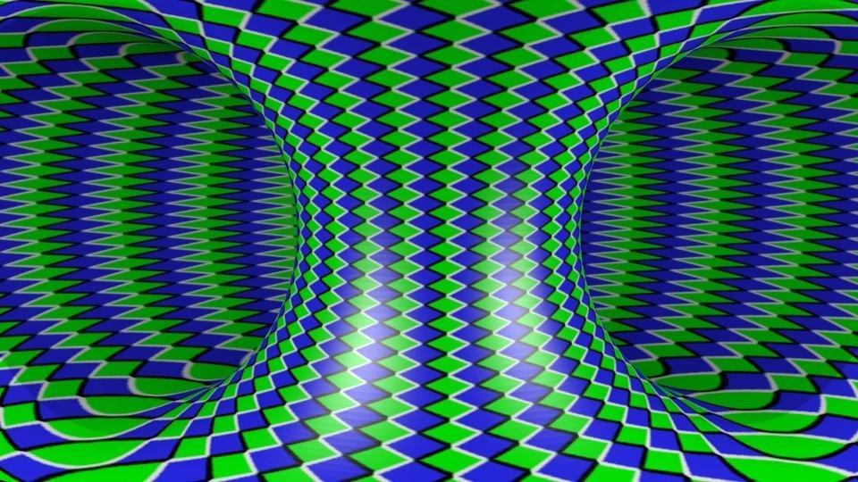 иллюзия движущаяся картинка именно этими