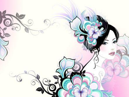 Женщина-цветочек