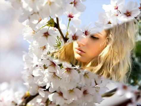 Я тебя придумала в апреле. Людмила Степановна Небесная. (мелодекламация)