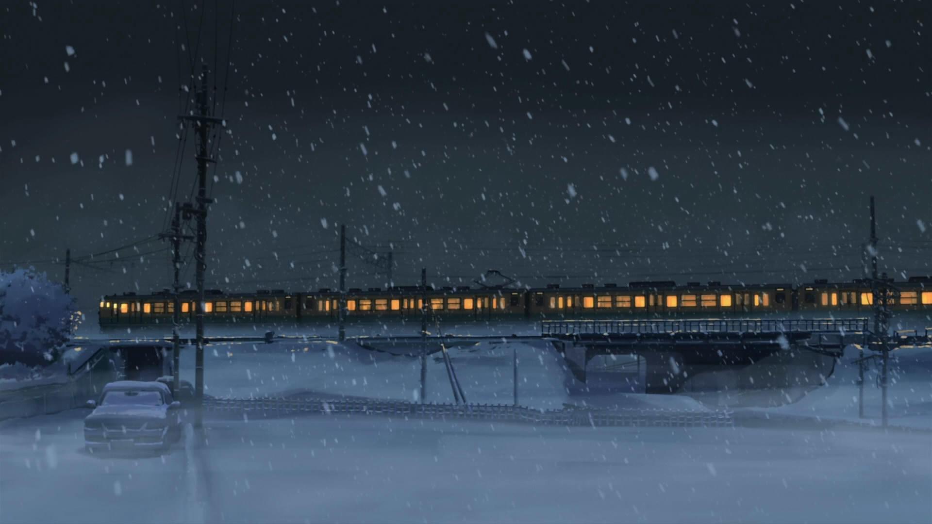 Двигался поезд бегущей строкой...