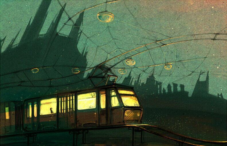 Трамвай до конечной