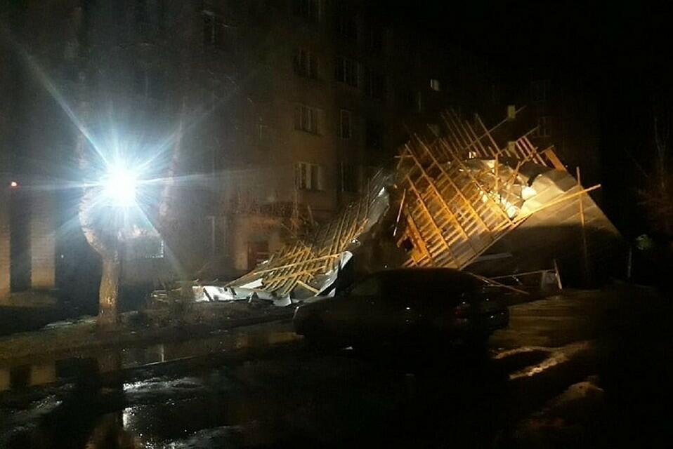 Ураган в Твери