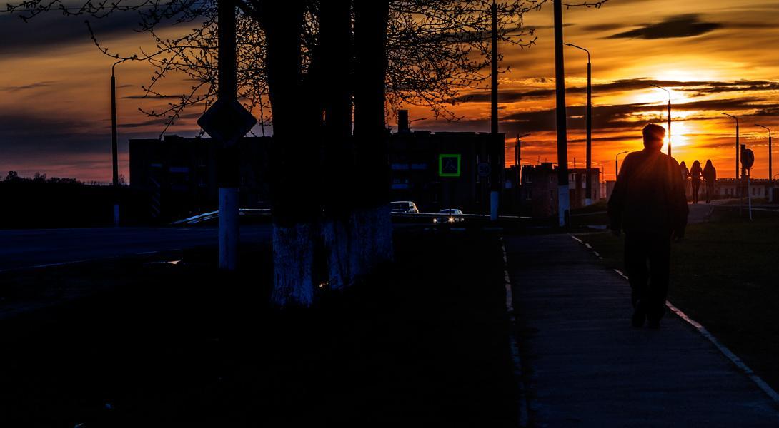 Прогулки на закате