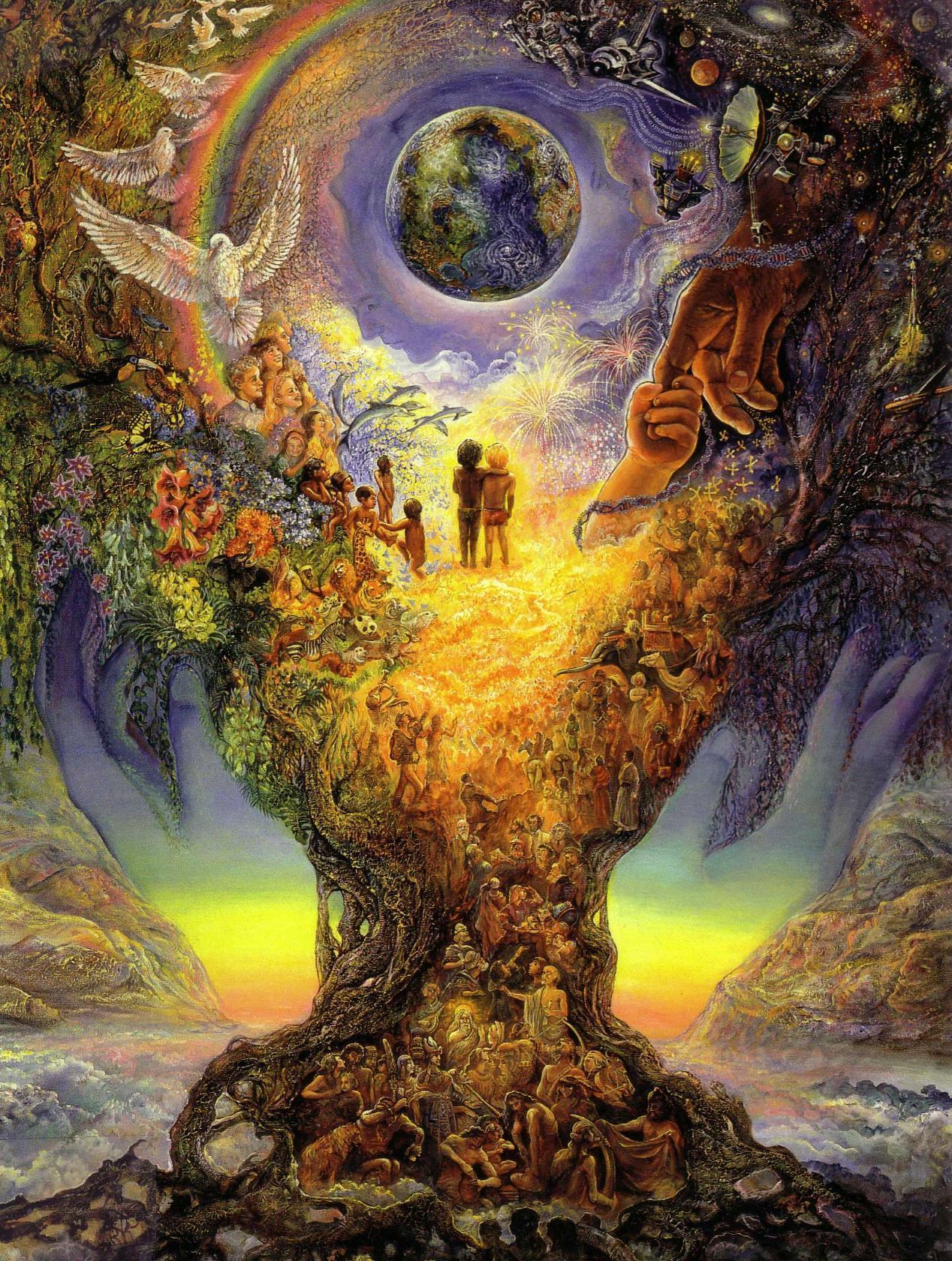 городе фото дерево жизни вселенная его ценит