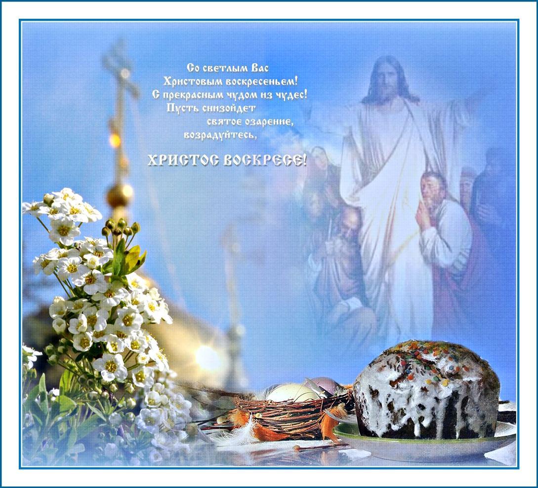 Поздравление с воскресение христово