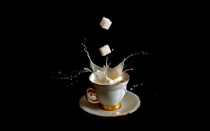 В кофейной чашке