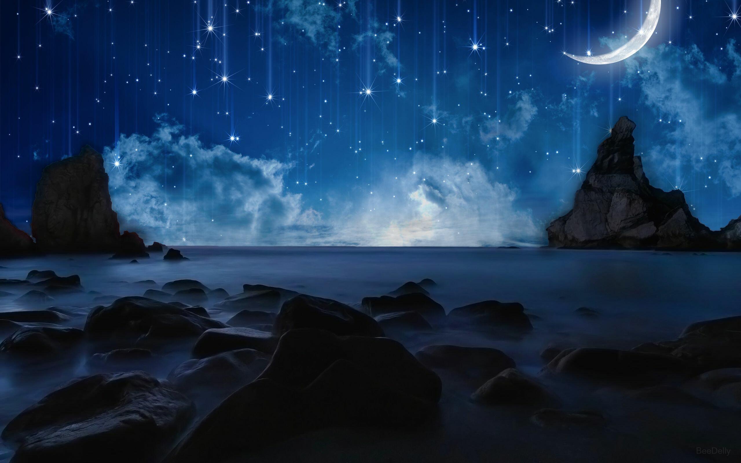 для картинка ночное море и звезды посоветуйте, как