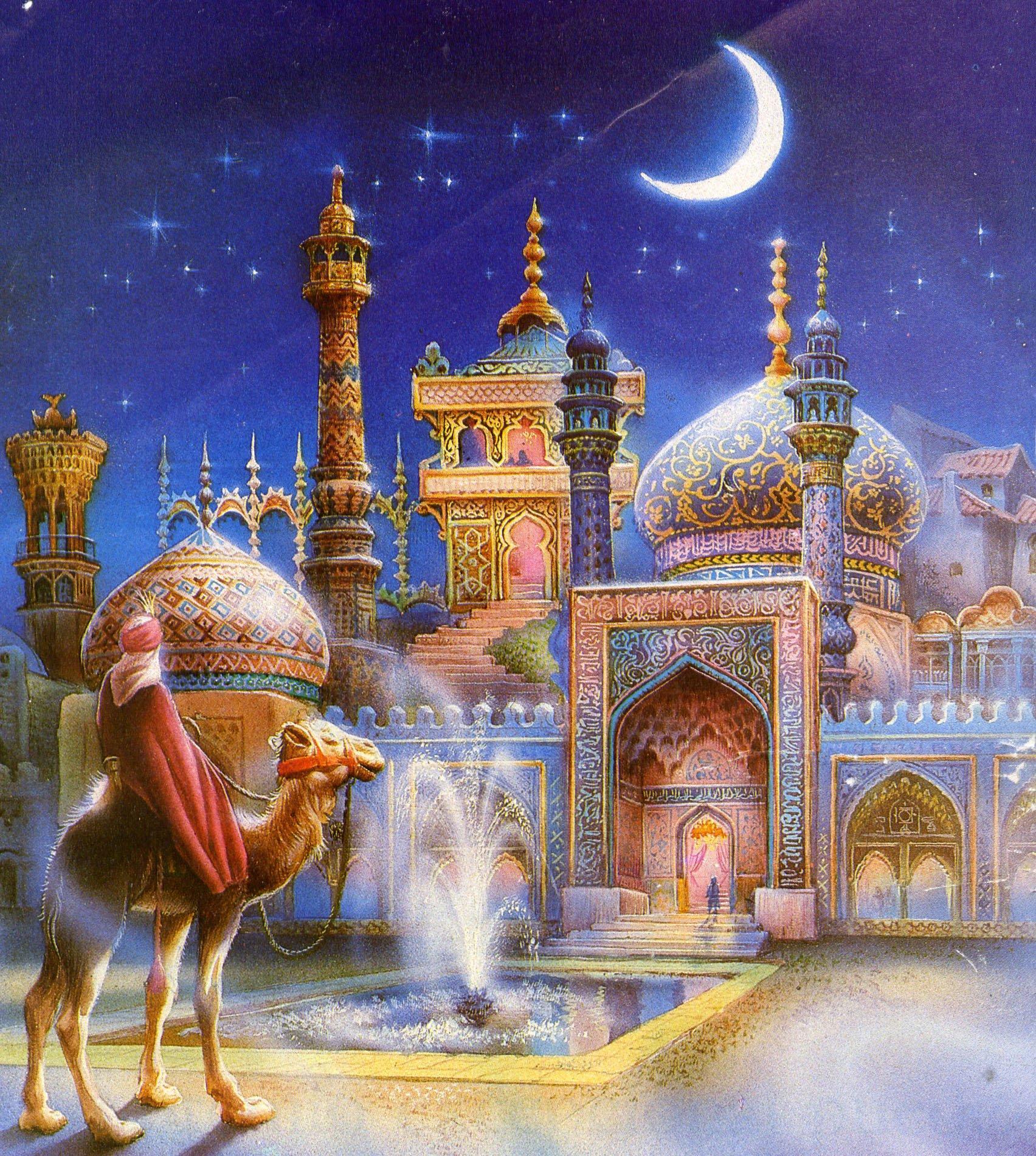 Восточная открытки, картинка анимашка картинки