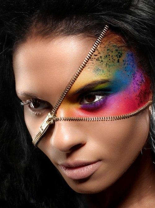 Оригинальный макияж для