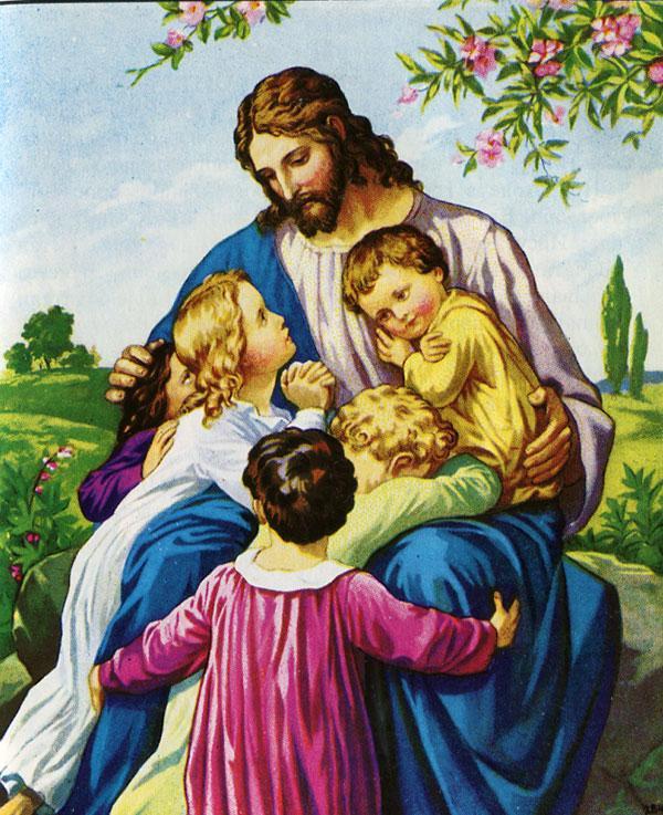 Христианские картинки с детской библии
