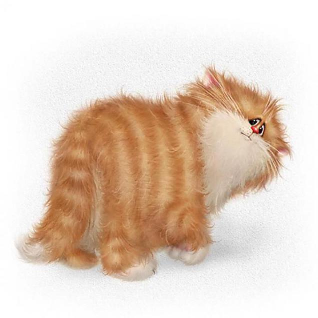 День рождения, рыжие коты открытки
