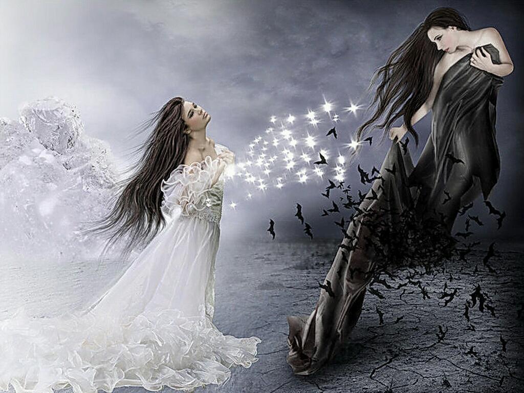 картинка ангела темных сил