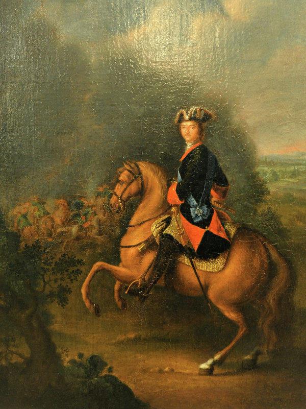 11 перед полтавской битвой в 1709 г русский царь петр i с войском молился перед казанской божией матерью