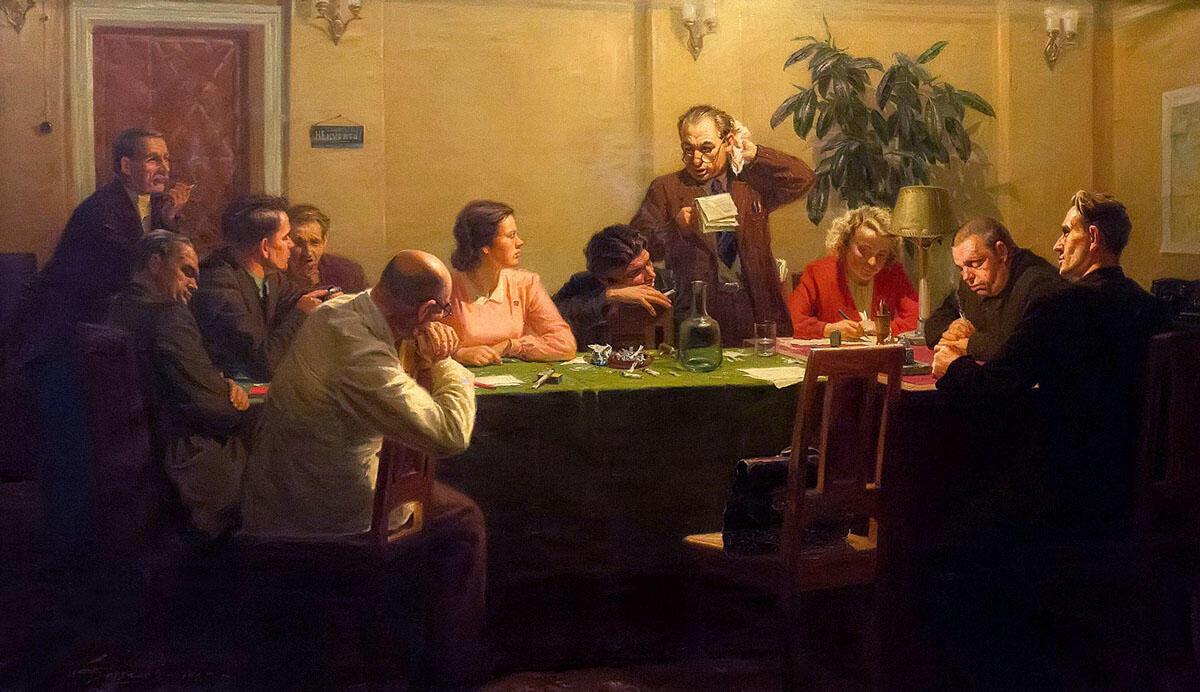 В Доме Союза Писателей