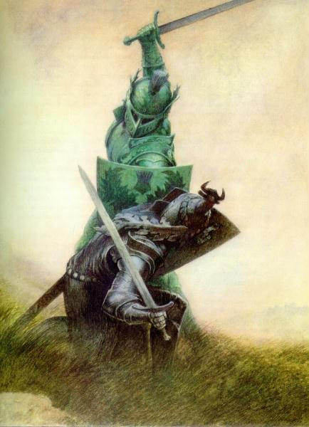 an introduction to the comparison of beowulf and green knight and camelot How he survived that ordeal with little more than a graze from the axe, who the green knight turned out to be, and why, after gawain's return to camelot, arthur's knights began to wear girdles of the same design, provides the substance of what follows.