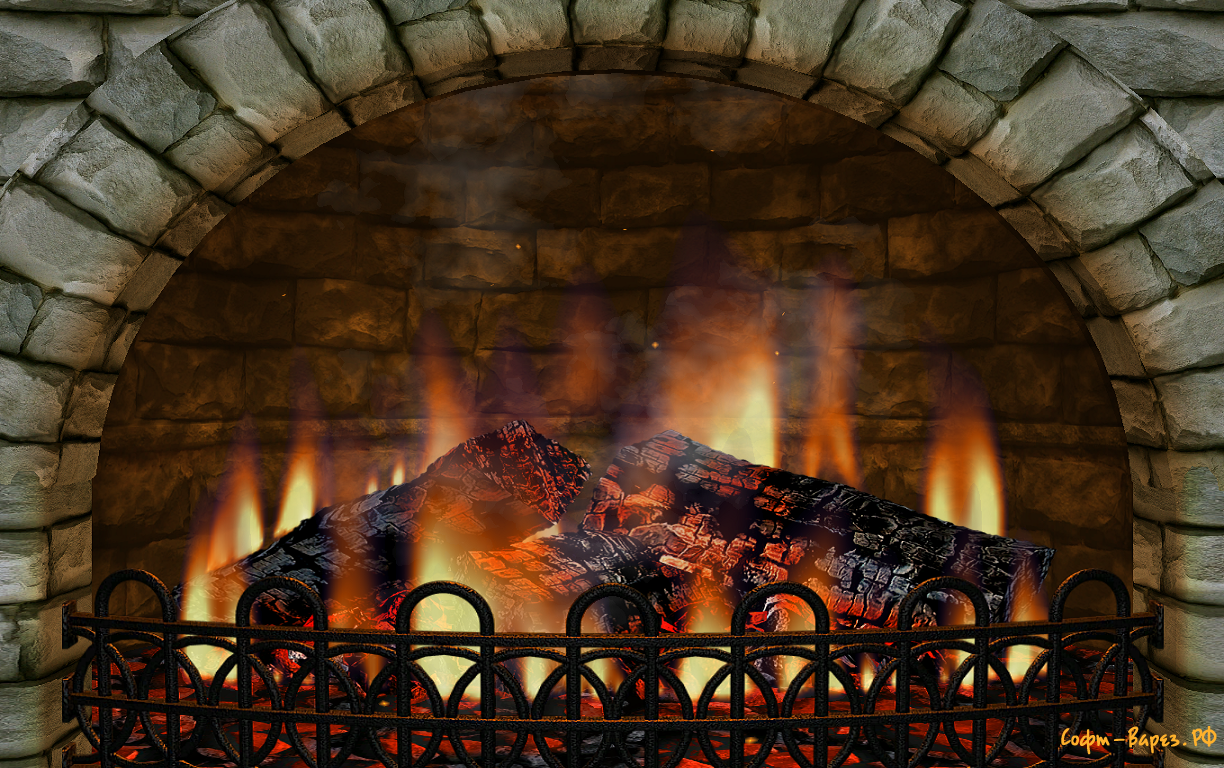 Images of Fireplace Gif Full Screen - #rock-cafe