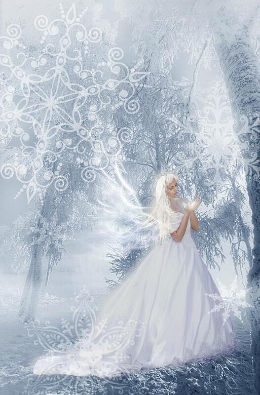 00132 Зима, девица-голубица