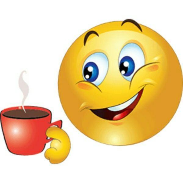 Картинки кофе смайлики