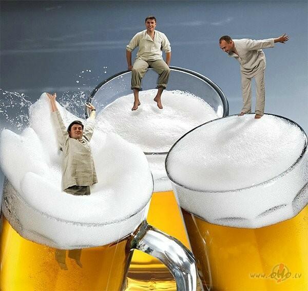 подписчики, прикольные открытки с пивом для доброго утра том, что
