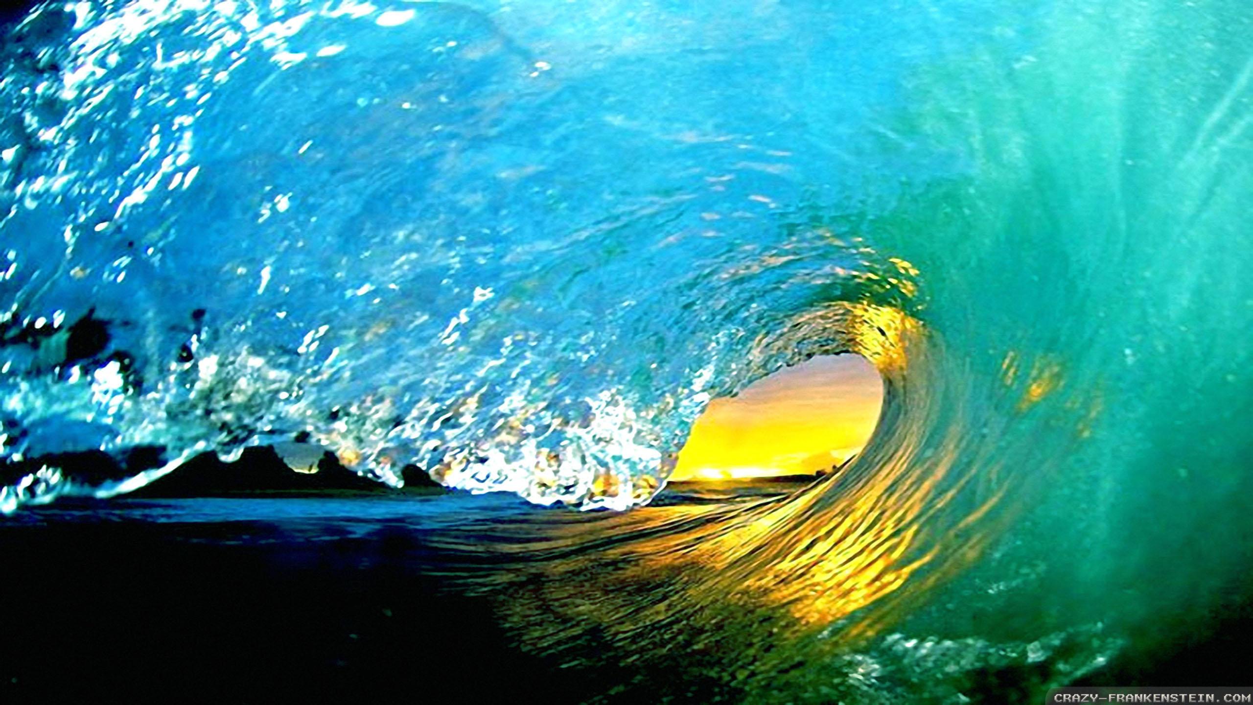 природа волна радуга вода  № 1039584  скачать