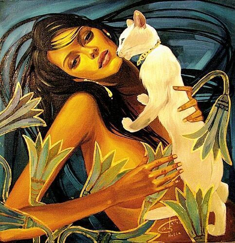 Женщины кошкам подобны