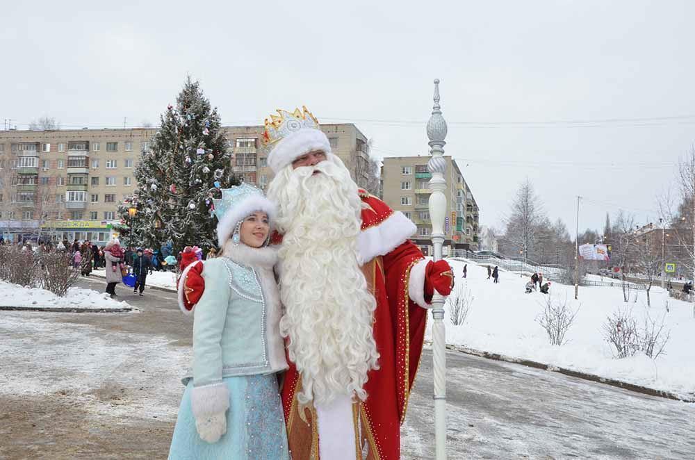 Кострома - родина Снегурочки.
