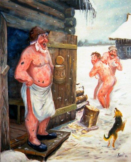 секс рассказы в деревенской бане