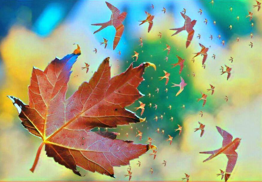 Падающий лист