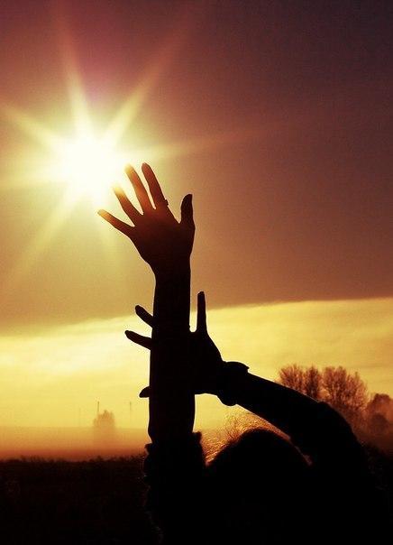 Фото на аву солнце