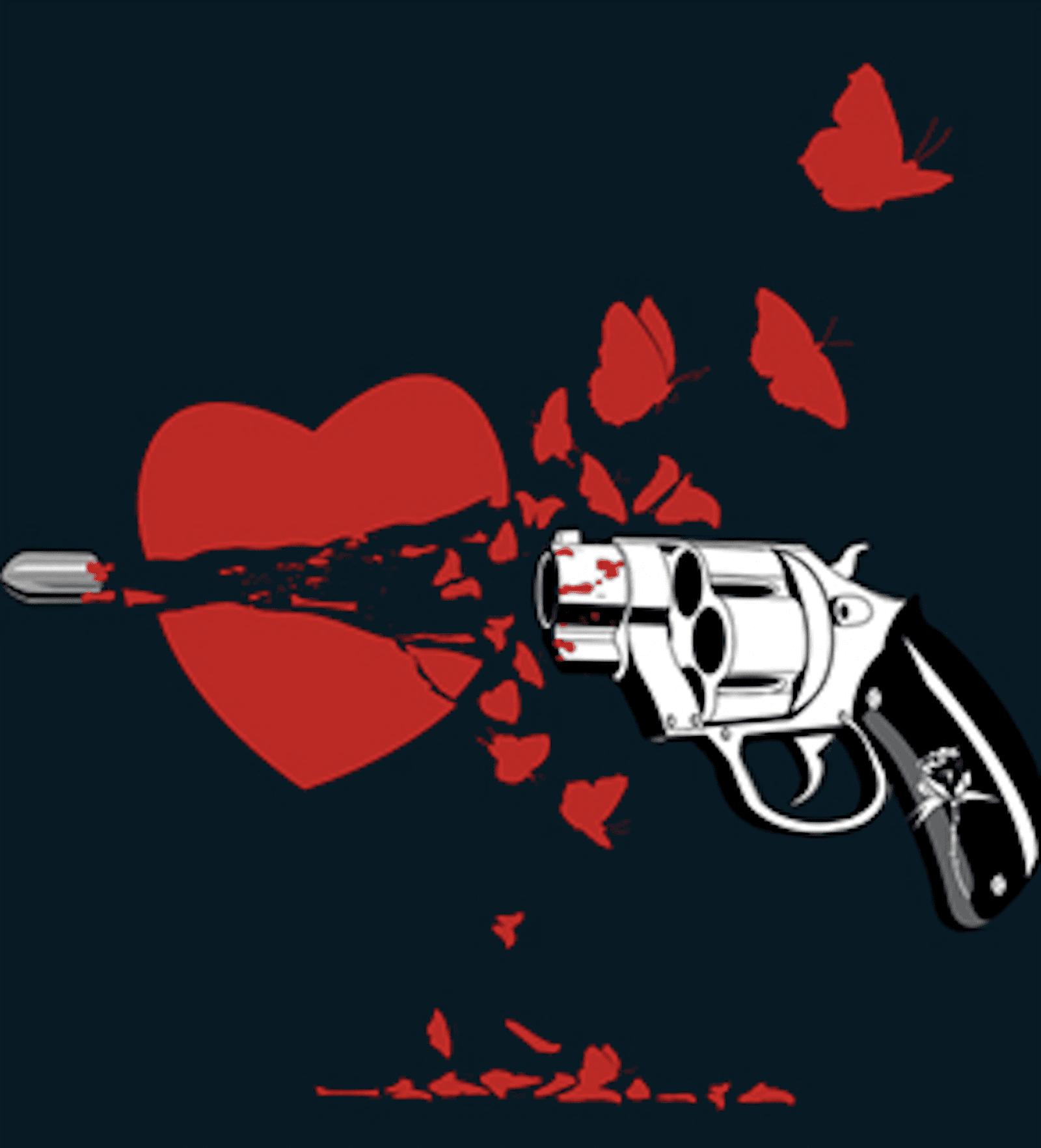 картинки пуля любви которые демонстрируют