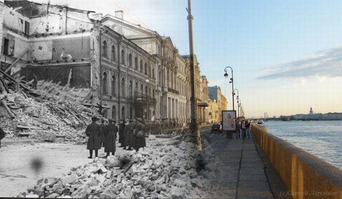 Прогулка по Ленинграду
