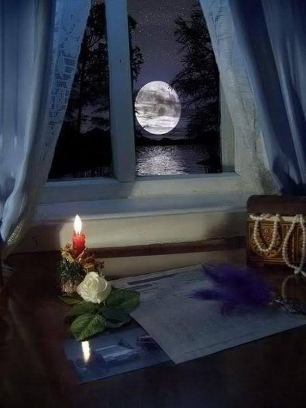 Открытки вечер за окном ночь на пороге, открытки признания