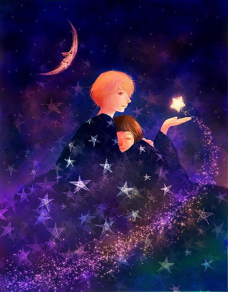 Мальчик и звезда картинки
