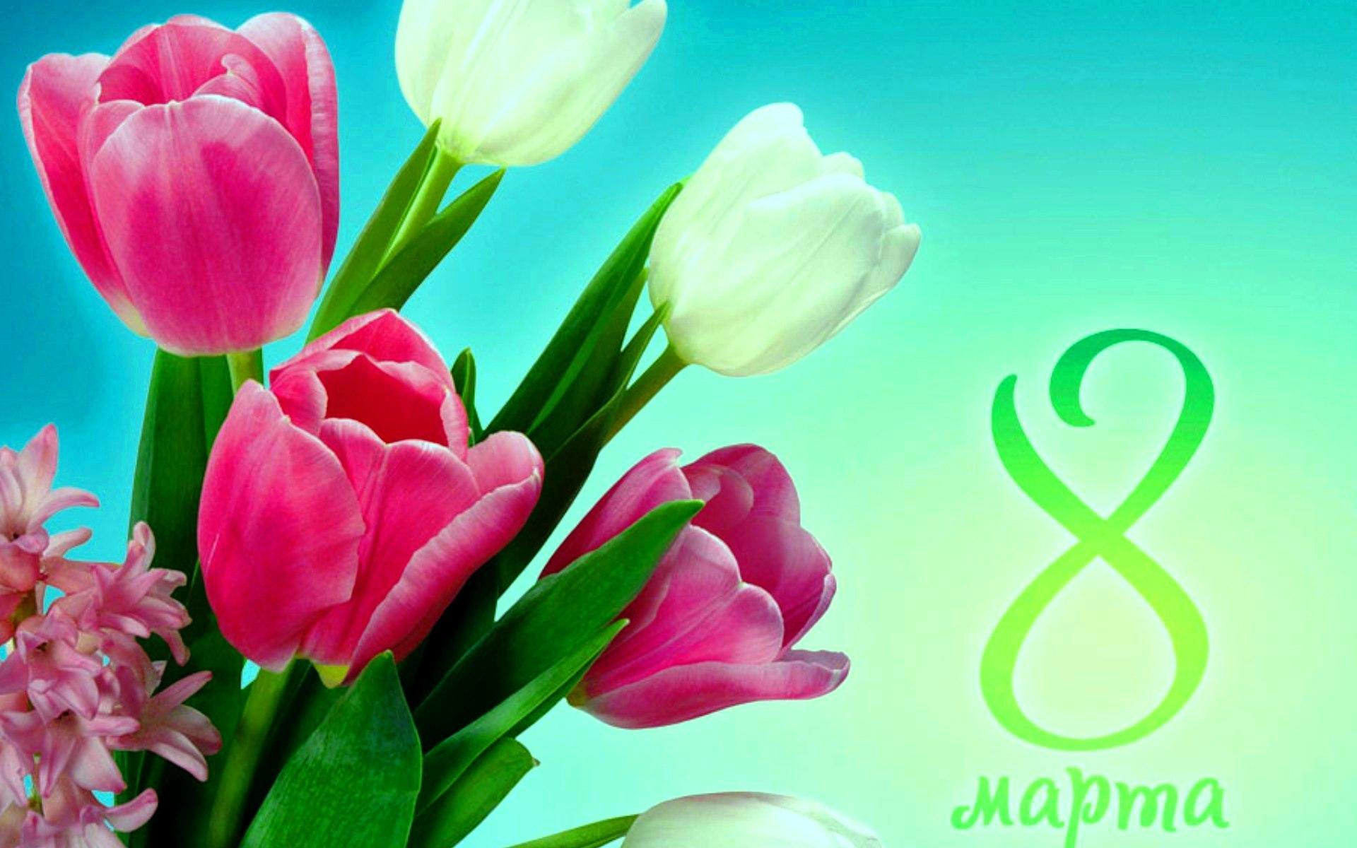 Видео открытка с 8 марта красивые, день рождение бумаги